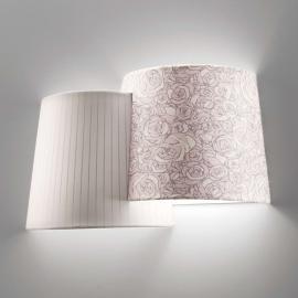 Applique à 2 lampes Melting Pot claire