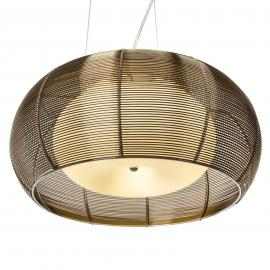 Grande suspension Relax bronze chromé