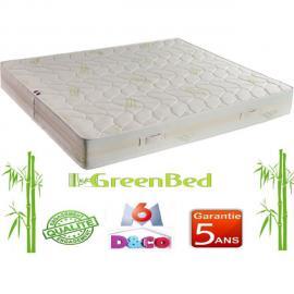 Greenbed Matelas Luxe et Confort Classic de 90x190cm avec 23cm d'épaisseur. Accueil ferme et soutien ferme. Zones de confort : Mo