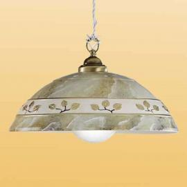 Suspension FOGLIE MARMO MARRON