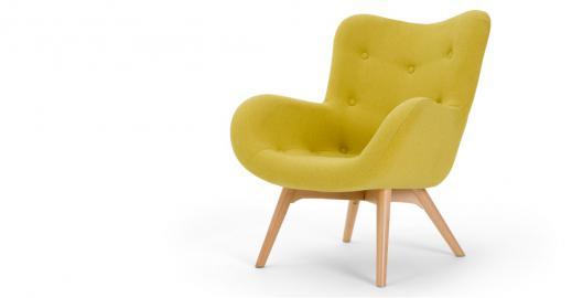 Doris, fauteuil d'appoint, vert shetland
