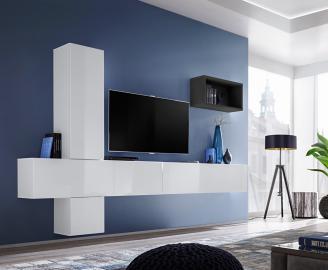 Boise VI - meuble tv mural