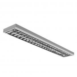 Plafonnier à trame LED pour bureaux, 66 W, 3 000 K
