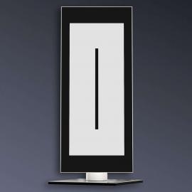 Lampe à poser LED Zen contrôlée à distance/couleur