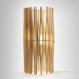 Lampe à poser design Stick en bois