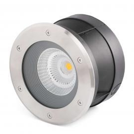 Spot encastrable dans le sol LED Suria-24 rond 24°