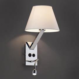 Applique murale LED flexible Moma 2 blanche