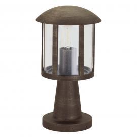 Luminaire pour socle Mads style rustique brun