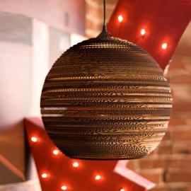 Suspension Ball ronde en carton 26 cm
