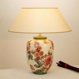 Lampe à poser florale Potpourri