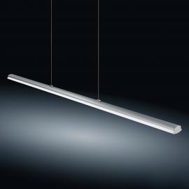 Suspension LED Venta nickel mat, 116,5 cm, 22 W