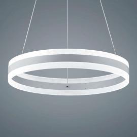 Suspension LED Liv blanc mat, diamètre 60cm