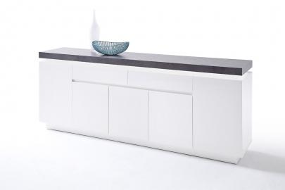 Buffet ATLANTA typ 75 - commode blanche