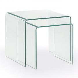 Kavehome Set de 2 tables gigogne Burano