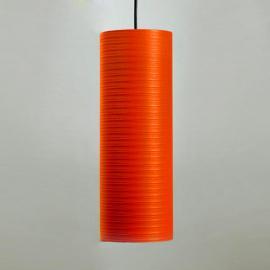 Suspension Tube en carbone 30 cm rouge
