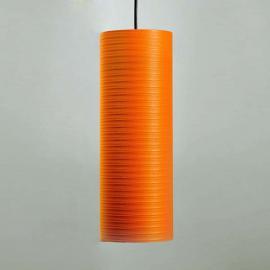 Suspension Tube en carbone 30 cm orange