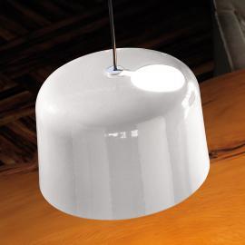 Suspension en céramique Add blanc brillant