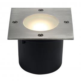 Spot encastrable au sol carré LED WETSY DISK
