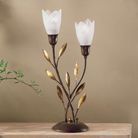 Lampe à poser CAMPANA design floral