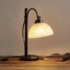 Lampe à poser DANA peinte à la main