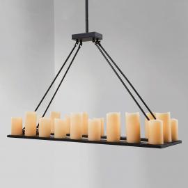 Suspension Candle Light à 20 lampes