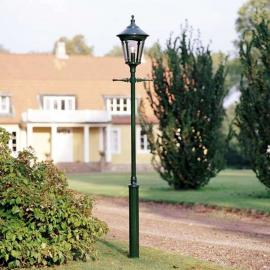 Lampadaire vert foncé 1 lanterne VIRGO