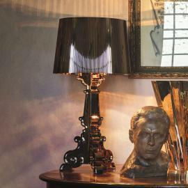 Lampe à poser LED de designer Bourgie, noire