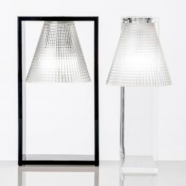 Lampe à poser LED Light-Air, noire-transparente