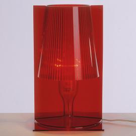 Kartell Take lampe à poser, rouge