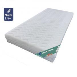 Nuits D'OR Night Matelas 100x200 Ferme - Dehoussable Housse lavable à 60'°C- Mousse 35 Kg - 20 cm