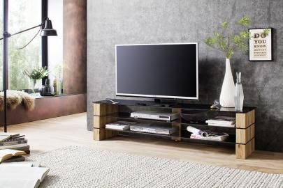 Kari 1 - meuble tv blanc laqué