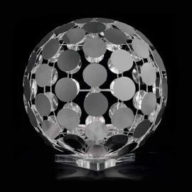 Lampe à poser SFERA avec socle transparent