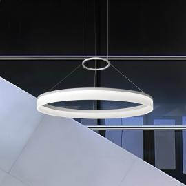 Suspension moderne LED CIRC 60 cm