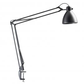 Lampe de table de bureau L-1 LED gris aluminium