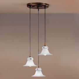 Suspension MAMI à trois lampes