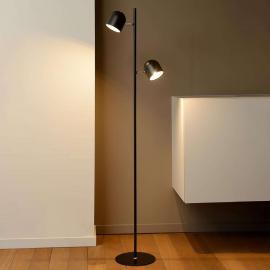 Lampadaire LED dimmable Skanska en noir