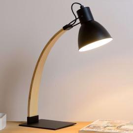 Lampe à poser Curf, noire