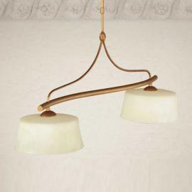 Suspension ALESSIO à 2 lampes
