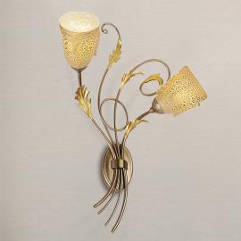 Applique ravissante Ilaria à 2 lampes