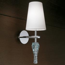 Applique décorative Crystal blanc