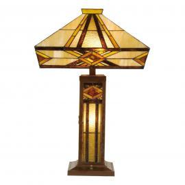 Lampe à poser Glenys style Tiffany