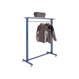 Vestiaire portant bleu