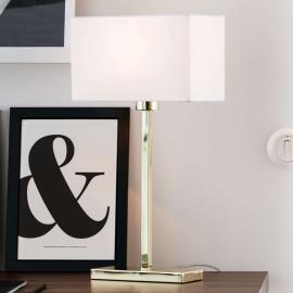 Lampe à poser Savoy USB aux lignes droites