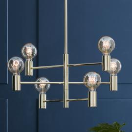 Suspension Capital à six lampes