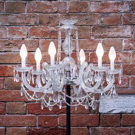 Lampadaire LED Drylight STL6 pour l'extérieur
