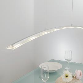 Suspension LED Juna, hauteur réglable, 136cm