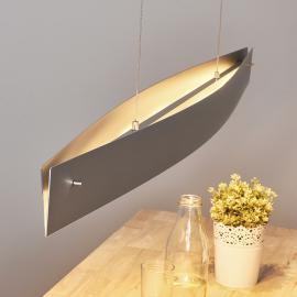 Suspension LED Malu alu - fabriquée en Allemagne