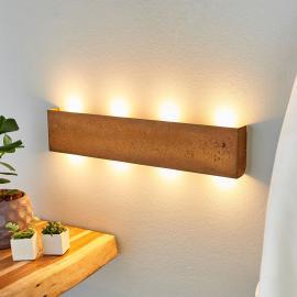 Applique LED dimmable Mira, couleur rouille