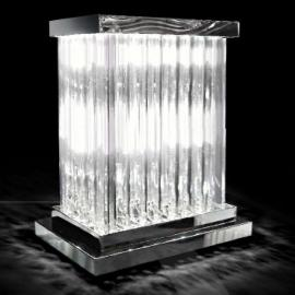 Belle lampe à poser Dorico cristal