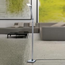 Lampadaire LED Ayana, variateur tactile